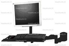 EZM LCD Monitor/Keyboard Wall Mount Black (002-0026)