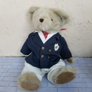 Jointed-Teddy-Bear-In-Shirt-Suit-Pants-Toy-Stuffed-Plush-Children-School-Uniform