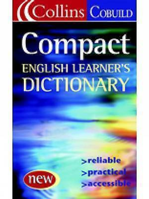 Compact English Dictionary (Collins Cobuild), Collins COBUILD, Used; Very Good B