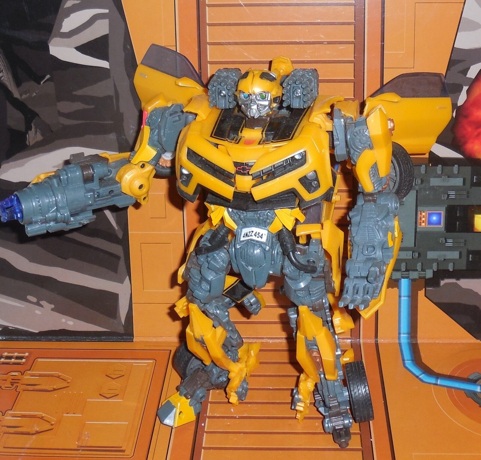Transformers Hunt For The Decepticons BATTLE OPS BUMBLEBEE Complete leader Hftd