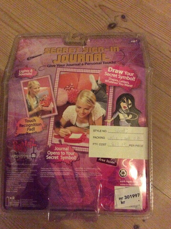 Andet legetøj, Elektronisk dagbog, Bratz