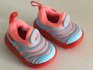 NIKE Orange/Orange/Blue Infant Sneakers