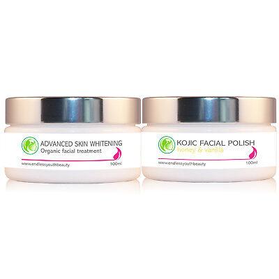 Anti aging 100ml Kojic Acid Whitening Cream Moisturizing