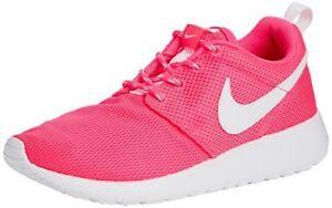 separation shoes 96c4e af6aa Image is loading Nike-Girls-Roshe-One-GS-Big-Kids-599729-