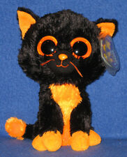 TY BEANIE BOOS - MOONLIGHT the CAT- MINT w/MINT TAG (PURPLE TAG - PRICE STICKER)