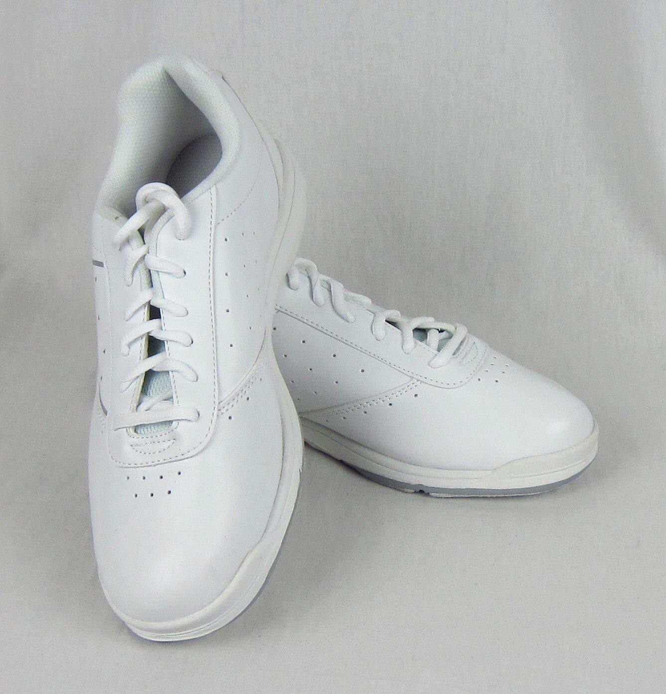New Women's Etoncis E Series Kitty Kat Bowling Shoes White and Silver Sz US 9.5