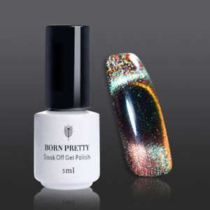 5ml-Born-Pretty-Holographic-Magnetic-UV-Gel-Nail-Polish-Cat-Eye-Soak-Off-BP-05