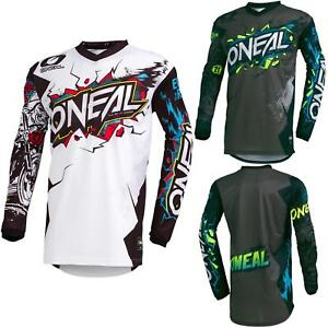 O-039-Neal-elemento-Villain-Motocross-Jersey-Enduro-MX-MTB-FR-DH-MAGLIA-MOUNTAIN-BIKE