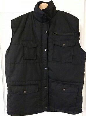 Mens Pocket Travel safari waistcoat hunting fishing Insulation Winter Work Vest