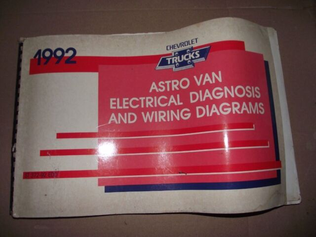 1992 Chevy Astro Van Models Electrical Diagnosis And