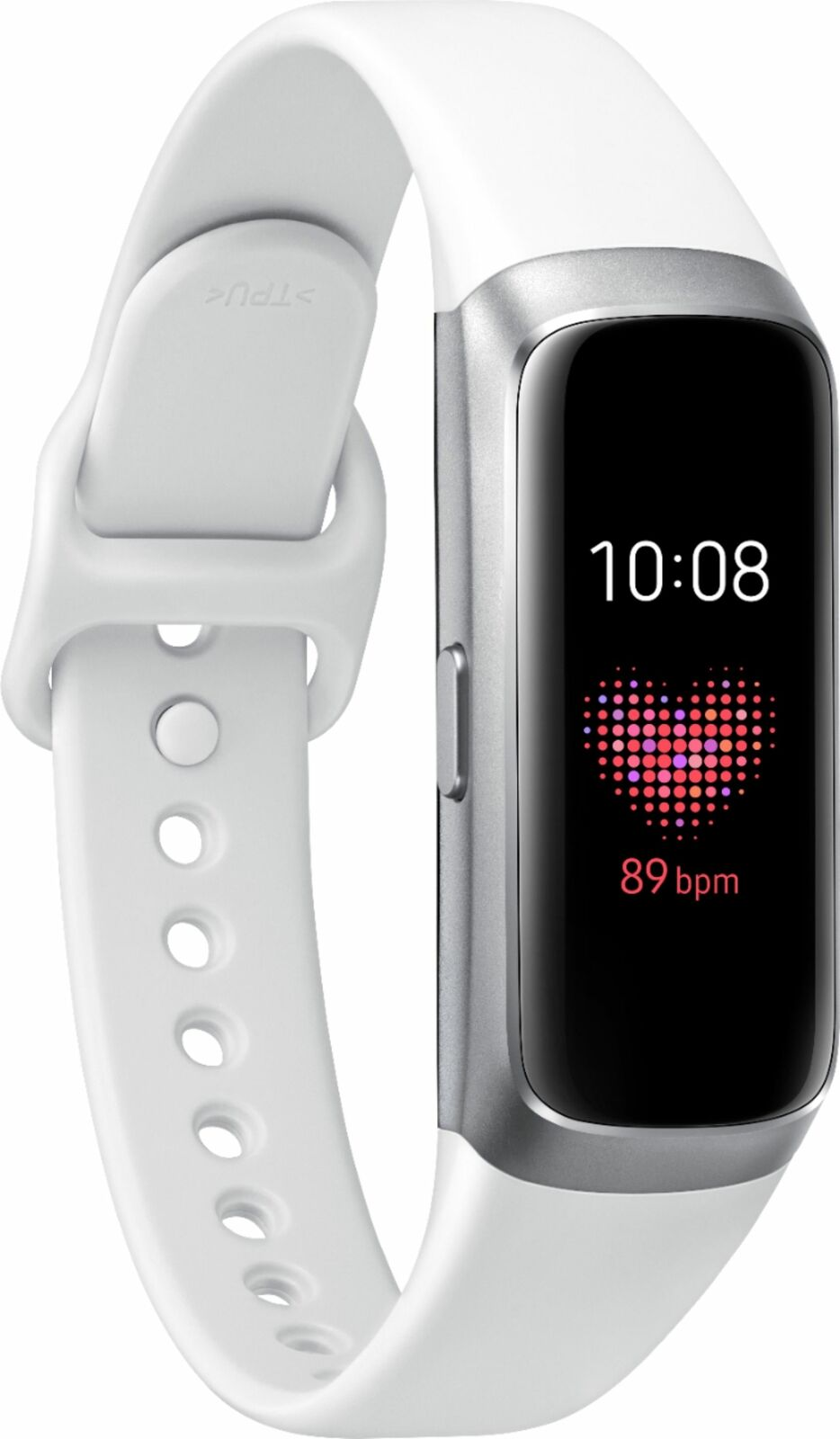 Brand New Samsung Galaxy Fit Activity Tracker + Heart Rate White - FREE SHIPPING activity brand Featured fit galaxy heart new rate samsung tracker white