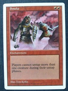 Smoke played - Mtg Magic Card #UE