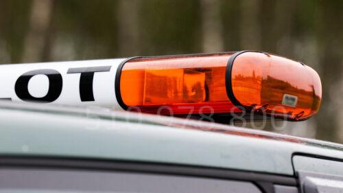 Xenon Lichtwarnbalken orange 1800 Warnlichtbalken 12V 24V