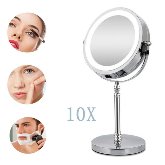 Kedsum Flexible Gooseneck 6 8 10x, Kedsum Flexible Gooseneck 6 8 10x Magnifying Led Lighted Makeup Mirror