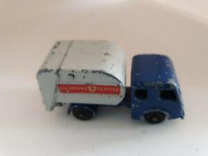 Vintage-Matchbox-Lesney-No-15-Dennis-Tippax-Refuse-Collector