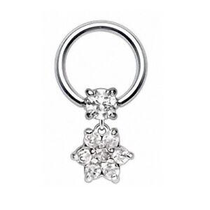 Intimate-Piercing-Nipple-Clamp-Ring-Zirconia-Crystal-Flower-Pendant