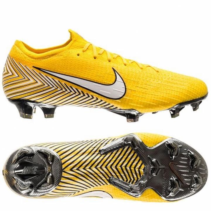 Nike MERCURIAL VAPOR XII 12 Elite alla terra ferma Scarpe da calcio-giallo