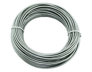115756 bicycle Brake Cable Housing 5mmx100//ft Gray