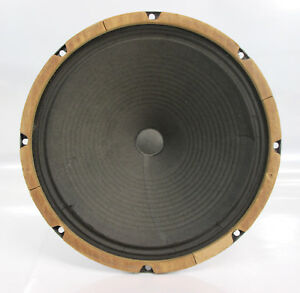 vintage jensen 12 guitar ribbed cone speaker 8 ohm p12r c6952 ebay. Black Bedroom Furniture Sets. Home Design Ideas