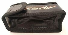 Apex RC Products 64mmX50mmX125mm Lipo Safe Fire Resistant Charging Bag #8085