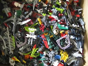 LEGO-BIONICLE-Hero-Factory-Bulk-Lot-1-lb-Pound-of-RANDOM-parts-amp-Pieces-for-MOCs