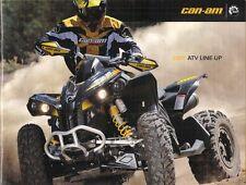 Can-Am ATV 2008-09 UK Market Sales Brochure Outlander Renegade DS 450 250