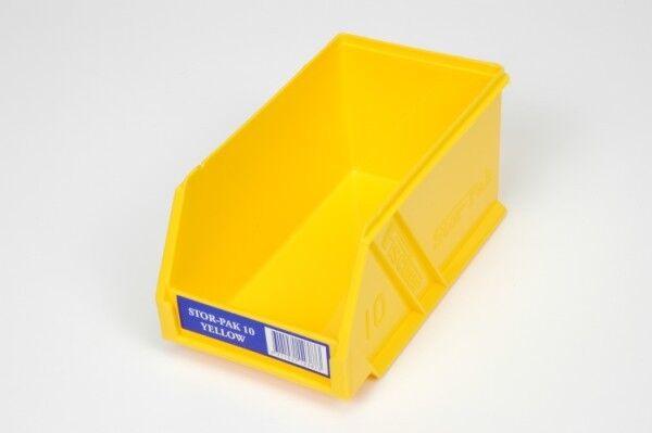 Fischer Plastic Products Stor-Pak Size 10 Plastic Storage Box 1H-061 Colourful