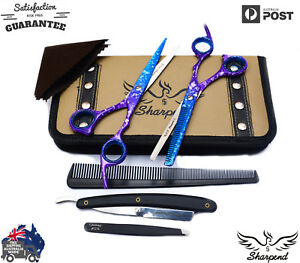 Salon-Hair-Cutting-Thinning-Scissors-Barber-Shears-Professional-Hairdressing-Kit