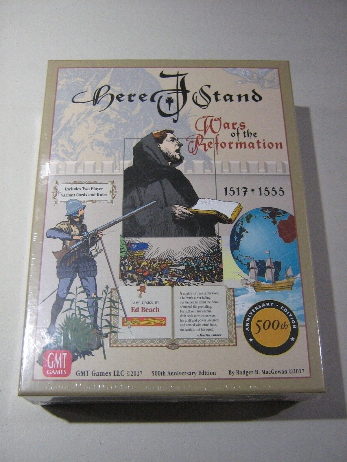 Here I Stand 500th Anniversary Edition (New)