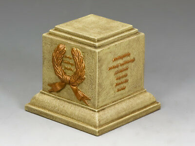 Actief King And Country Sp078 Sp78 Sandstone Square Statue Plinth 1:30 Scale
