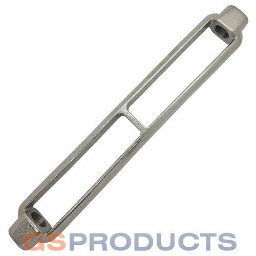 M16 Stainless Steel Open Body Turnbuckle Body Only Free P+P!