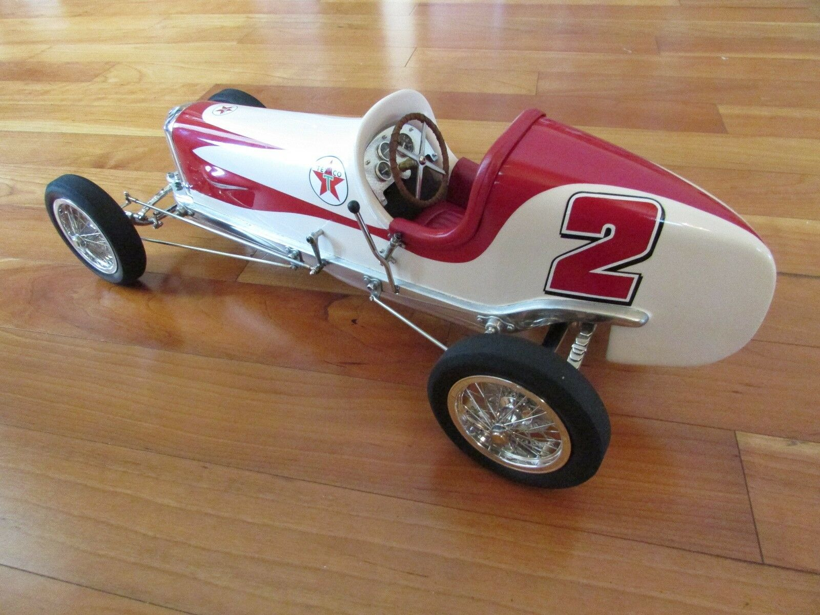 1930's Indy 500 Miller type race car custom built to order 18 in. cast aluminum
