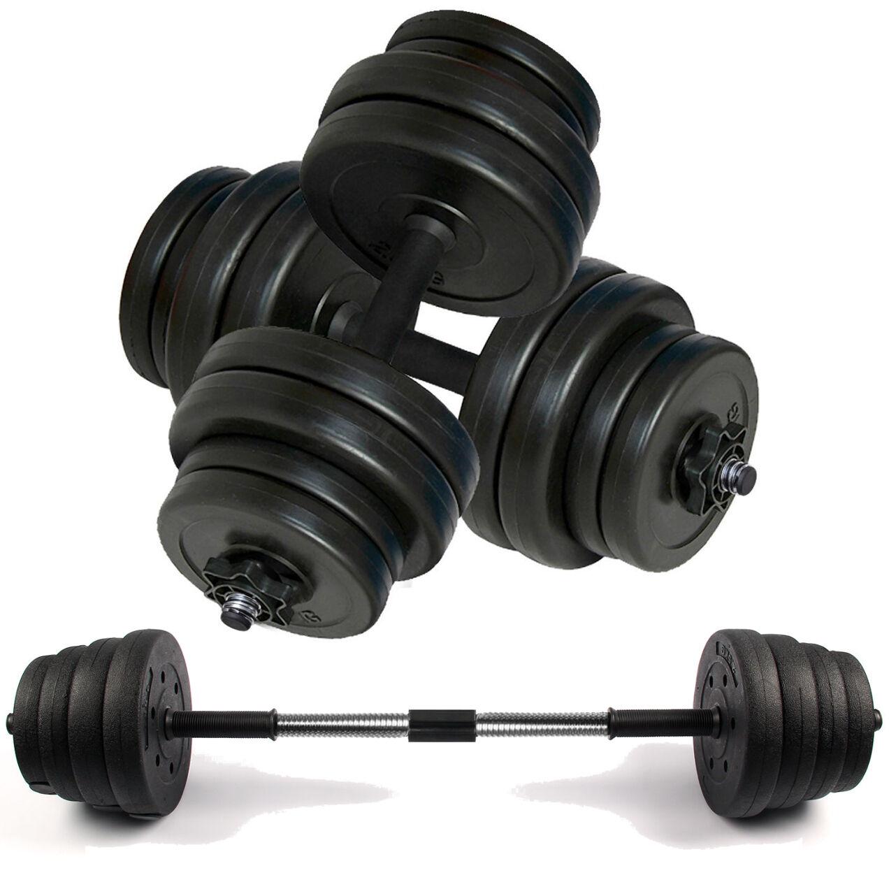 Set Manubri Pesi Allenamento Con I Esercizi Fitness Palestra Casa Bicipiti