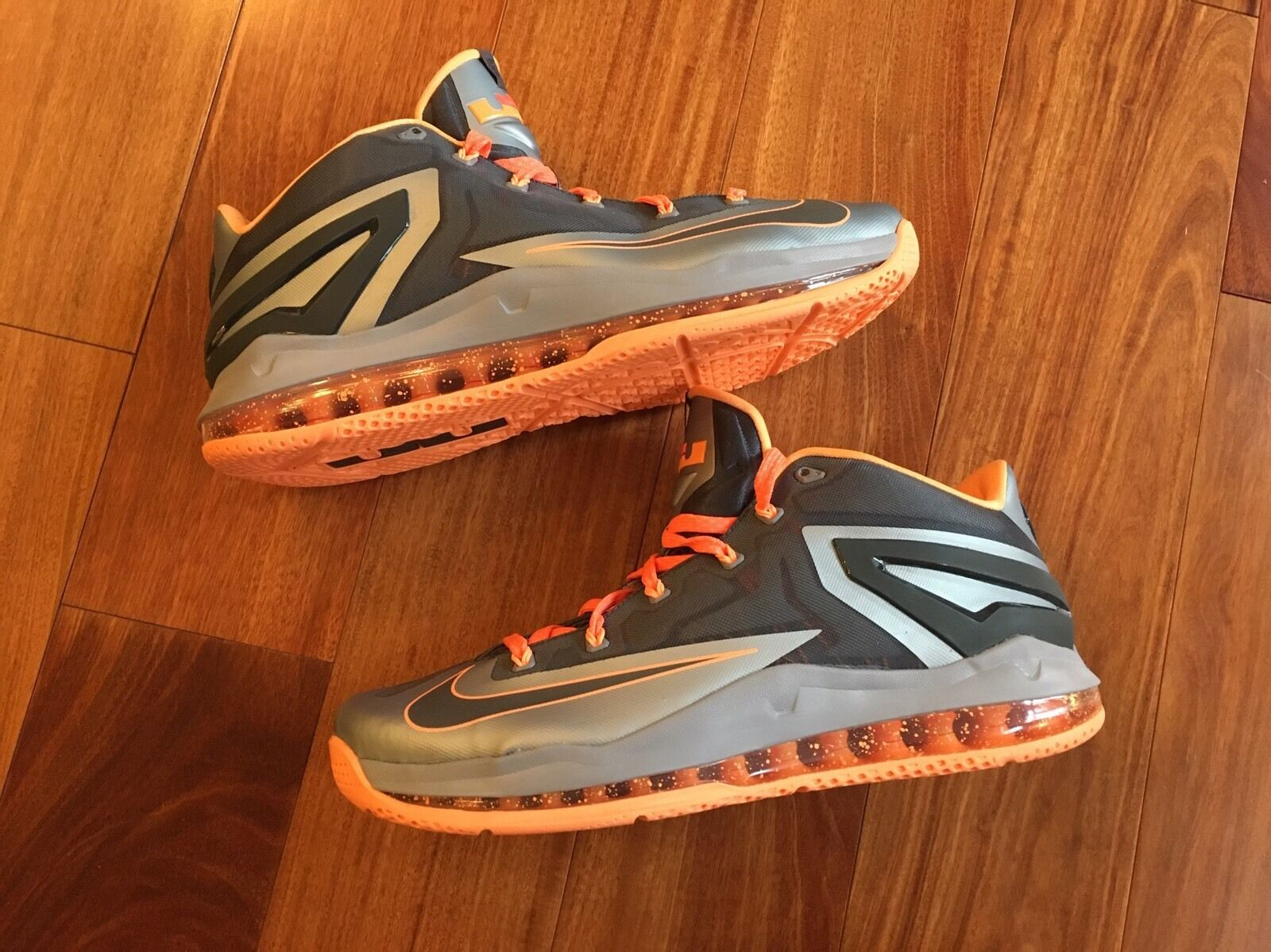 Nike Max Lebron 11 XI Low Price reduction Wild casual shoes