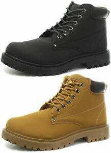 New-dek-Oasis-Unisex-6-Eyelet-Padded-Collar-Ankle-Boots-ALL-SIZES-AND-COLOURS