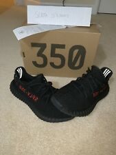 adidas Yeezy Boost 350 V2 Zebra Men's Athletic Shoes, Size 11 - White/Black/Red