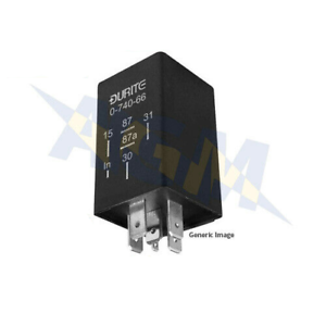 12 Minutes 12V Durite 0-740-67 Delay Off Timer Relay