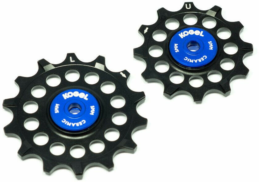 Kogel 12 14TNW Narrow Breed Ceramische MTB Pulley Set (SRAM Eagle) Zwart