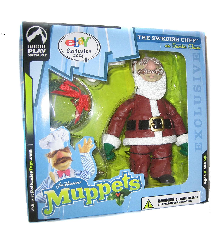 Muppets Show Show Show SWEDISH SANTA CHEF Ebay Xmas 2004 Exclusive 6  figure toy RARE e9d29d