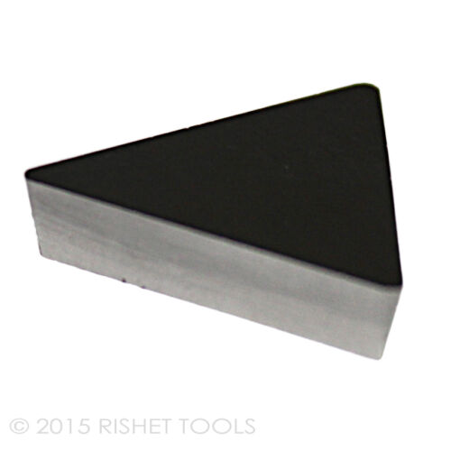 RISHET TOOLS TPU 323 C2 Uncoated Carbide Inserts 10 PCS
