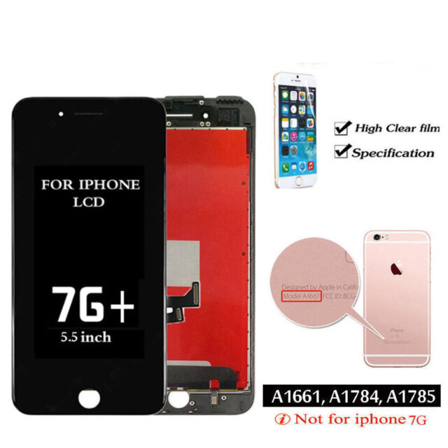 free shipping 7d376 558f2 Black For iPhone 7 Plus 5.5