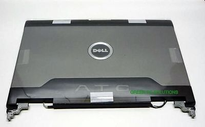 """Genuine Dell Latitude D620 D630 ATG 14.1/"""" LCD Back Cover Lid With Hinges KN769"""