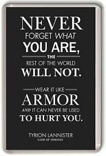 Tyrion Lannister quote Game Of Thrones Crown Fridge Magnet
