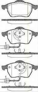 Jeu-Plaquette-Frein-AV-TRISCAN-AUDI-A4-8D2-B5-2-4-163-CH
