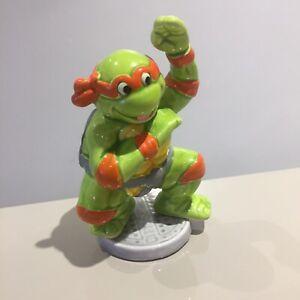 TMNT Michelangelo Figura in ceramica vintage anni 1980 anni 1990 RARO