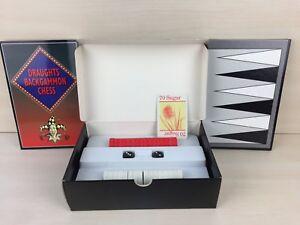 La-famosa-Ajedrez-Damas-Backgammon-Hoyle-En-Caja-Con-Instrucciones-Regalo-Ideal