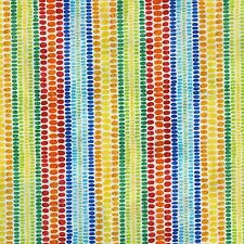 """Fabric African Safari Migration Dotted Stripes on White Cotton 2 Yards +or- """""""