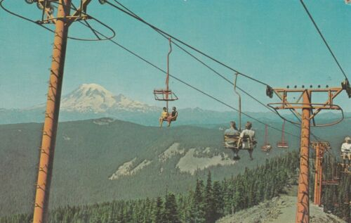 *Postcard-Summertime Pleasure /Riding The Chairlift @ White Pass/  (U1-97)