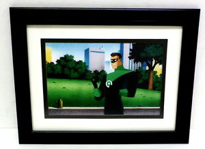 Superman-Animated-Framed-Print-or-art-picture-Green-Lantern