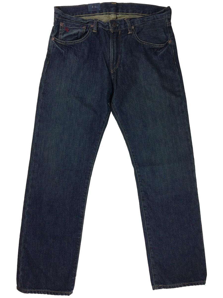 Ralph Lauren Polo Mens Classic Fit 867 Denim Jeans Warren New